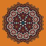 Mandala Design orientale stylisée pour Flayer Photographie stock