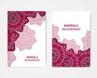 Mandala Design ornamental Imagen de archivo