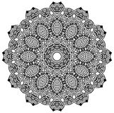 Mandala Design. Ornamental round mandala. Geometric circle element made in . Perfect for any other kind of design, birthday and other holiday, kaleidoscope Royalty Free Stock Images
