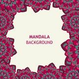 Mandala Design ornementale Image libre de droits