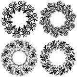 Mandala design. Traditional ethnic pattern. Vector print. Stock Image