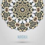Mandala design. Vector illustration. EPS 10 Stock Photography