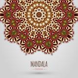 Mandala design. Vector illustration. EPS 10 Stock Photos