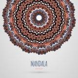 Mandala design. Vector illustration. EPS 10 Stock Images