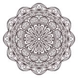 Mandala designs for adult coloring books, decorations, etc. Mandala designs for adult coloring books, decorations etc stock illustration