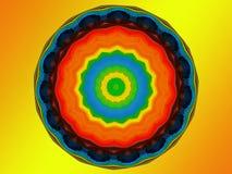 Mandala di Chakra Fotografia Stock