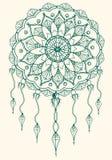 Mandala di Dreamcatcher Fotografie Stock Libere da Diritti