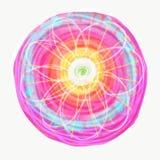Mandala dipinta con l'acquerello Immagine Stock
