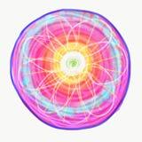 Mandala dipinta con l'acquerello Immagine Stock Libera da Diritti