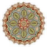 Mandala disegnata a mano Fotografie Stock