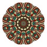 Mandala dla sztuki, dorosłego i dziecko kolorystyki książki, zendoodle Ręka rysująca wokoło zentangle może być używać twórczości  fotografia stock