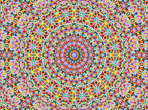Mandala do estilo de Universum foto de stock royalty free