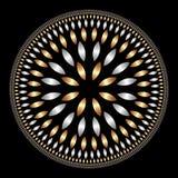 Mandala do GS Ilustração Royalty Free