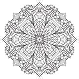 Mandala do indiano do vetor Imagem de Stock