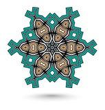 Mandala do Maya ilustração do vetor