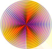 Mandala do movimento Foto de Stock Royalty Free
