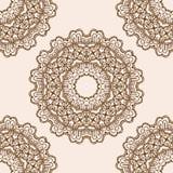 Mandala do ornamento Elemento geométrico do círculo feito no vetor Cartões perfeitos para algum outro tipo do projeto, do anivers Fotografia de Stock Royalty Free