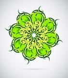 Mandala do ornamento floral Fotografia de Stock