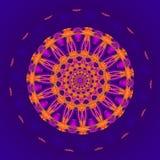 Mandala do ouro Imagem de Stock