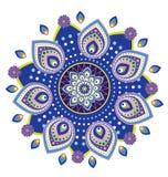 Mandala do teste padrão de flor Imagens de Stock