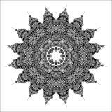 Mandala do vetor Fotos de Stock Royalty Free