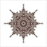 Mandala do vetor Imagem de Stock Royalty Free