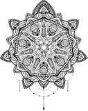 Mandala do vetor para o livro para colorir Imagem de Stock Royalty Free
