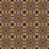 Mandala do vitral do Fractal Imagem de Stock