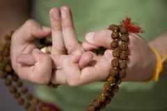 Mandala dos lótus Imagem de Stock Royalty Free