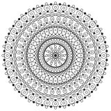 Mandala Drawing Stock Photography