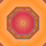 Mandala Eastern abstract design Stock Photography