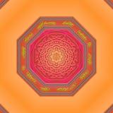 Mandala Eastern abstract design Stock Photography