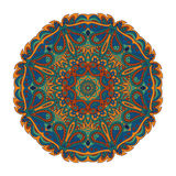 Mandala Eastern pattern. Zentangl round ornament stock illustration