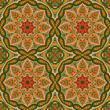 Mandala Eastern pattern. Zentangl seamless ornament Stock Image