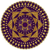 Mandala elegante Fotografia de Stock Royalty Free