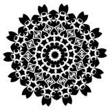 mandala Elementi decorativi etnici Elementi decorativi dell'annata Illustrazione orientale del modello Islam, arabo, indiano, tur Immagini Stock
