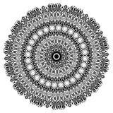 mandala Elementi decorativi etnici Elementi decorativi dell'annata Illustrazione orientale del modello Islam, arabo, indiano, tur Immagine Stock Libera da Diritti