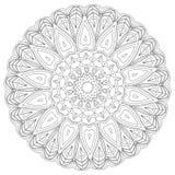 mandala Elementi decorativi etnici Elementi decorativi dell'annata Illustrazione orientale del modello Islam, arabo, indiano, tur Immagini Stock Libere da Diritti