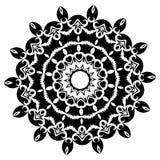mandala Elementi decorativi etnici Elementi decorativi dell'annata Illustrazione orientale del modello Islam, arabo, indiano, tur Fotografia Stock Libera da Diritti
