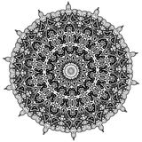 mandala Elementi decorativi etnici Elementi decorativi dell'annata Illustrazione orientale del modello Islam, arabo, indiano, tur Fotografie Stock