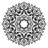 mandala Elementi decorativi floreali Fotografie Stock Libere da Diritti