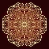 mandala Elemento decorativo étnico Fotografía de archivo