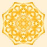 mandala Elementos decorativos étnicos Foto de archivo