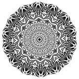 mandala Elementos decorativos étnicos Elementos decorativos de la vendimia Ejemplo oriental del modelo Islam, árabe, indio, turco Stock de ilustración