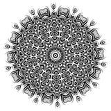mandala Elementos decorativos étnicos Elementos decorativos de la vendimia Ejemplo oriental del modelo Islam, árabe, indio, turco Ilustración del Vector