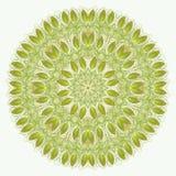 mandala Elementos decorativos étnicos Fundo tirado mão Isla Imagem de Stock Royalty Free