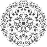 mandala Elementos decorativos étnicos Mano drenada Fotografía de archivo libre de regalías