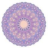 mandala Elementos decorativos de la vendimia Fondo dibujado mano Islam, árabe, adornos indios Foto de archivo libre de regalías