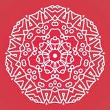 mandala Elementos decorativos do vintage Fundo tirado mão Islã, árabe, indiano, motivos do otomano Imagem de Stock