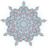 mandala Elementos decorativos do vintage Teste padrão oriental, ilustração do vetor Fotos de Stock